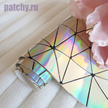 Кожзам геометрия светлое золото