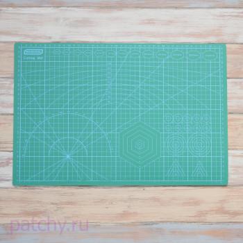"Коврик (мат) для резки ""Темно-зеленый"" (A3)"
