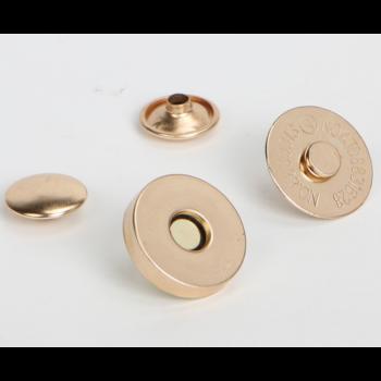 Магнитная кнопка 14 мм серебро