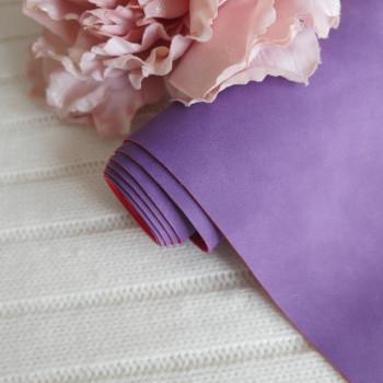 Кожзам Soft touch фиолетовый 18*60см