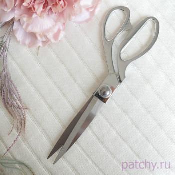 Портновские ножницы из нержавеющей стали  24 см серебро