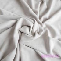 Ткань искусственная замша тепло серый 54