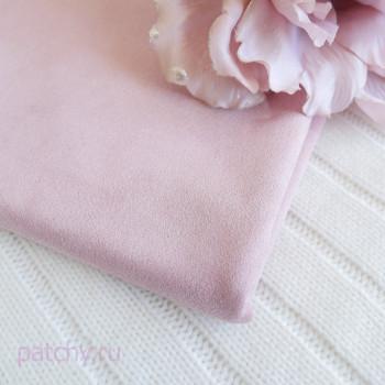Микрозамша двусторонняя Розовый 27*140см