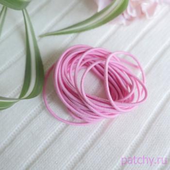 Резинка круглая розовый