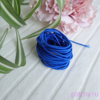 Резинка круглая синий