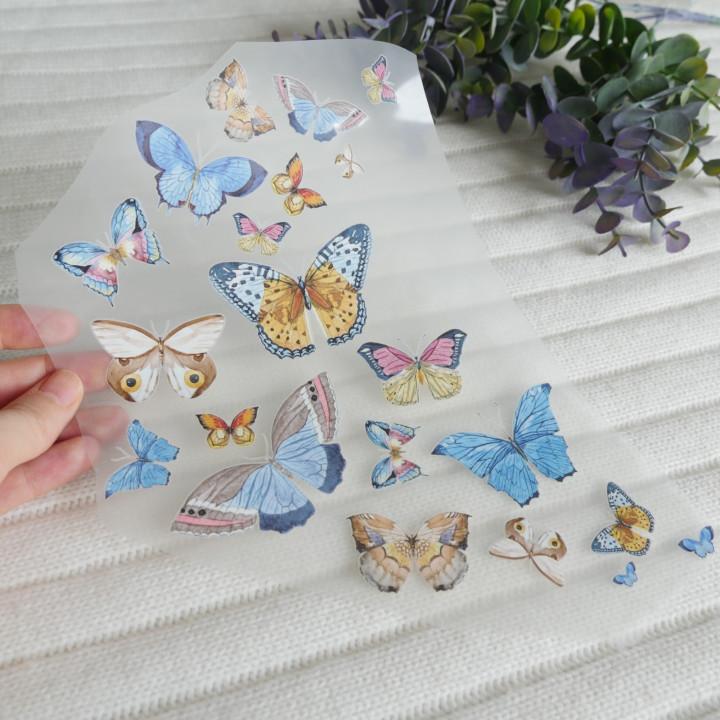"Термокартинка ""Бабочки"" 22*21 см"
