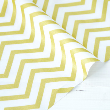 Ткань хлопок sleek chevron pearlized