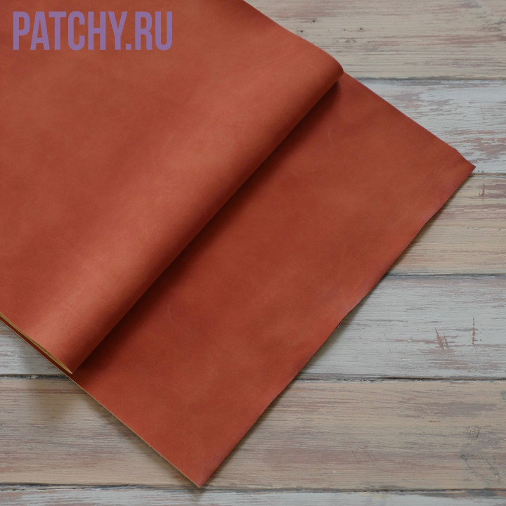 Искусственная замша оранжевая 25 х 70 см