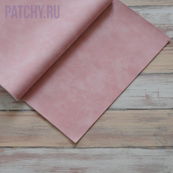 Искусственная замша светло розовая