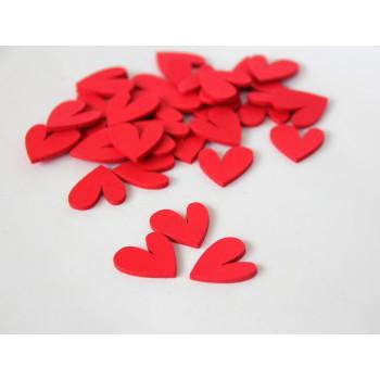 Сердечки - Красный