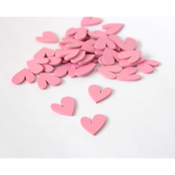 Сердечки - Розовый