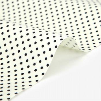 Ткань хлопок 453 Cream dot