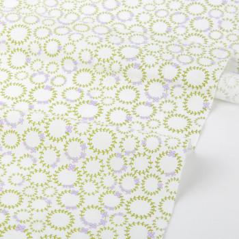 Ткань хлопок 101 Wildflower  wreath