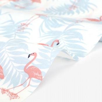 Ткань хлопок 537 Fresh flamingo