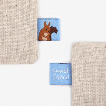 Этикетка 29 sweet friend squirre