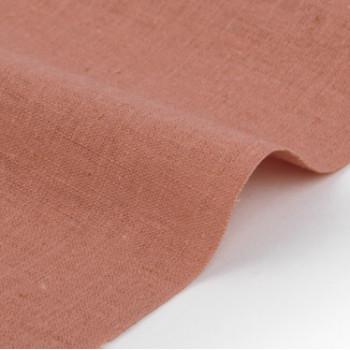 Ткань лен 196 Ruddy pink