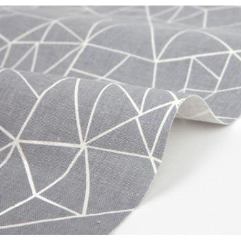 Ткань для пэчворка и скрапбукинга лен 363 Dream flower fragment