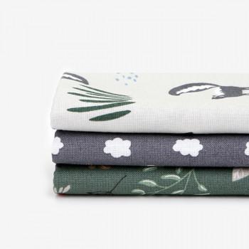 Набор тканей для скрапбукинга Dailylike 104 Skunk