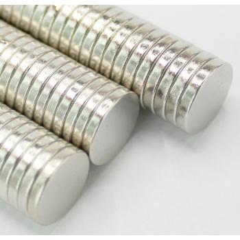 Неодимовый магнит 8*1,5 мм