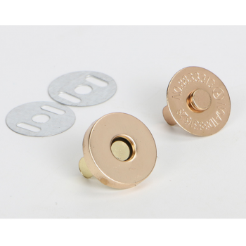 Магнитная кнопка 18 мм серебро