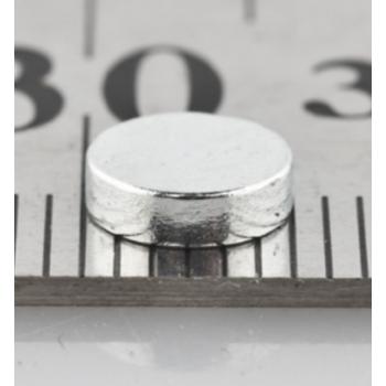 Неодимовый магнит 6*1,5 мм