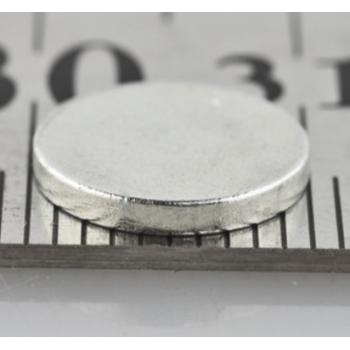 Неодимовый магнит 10*1,5 мм