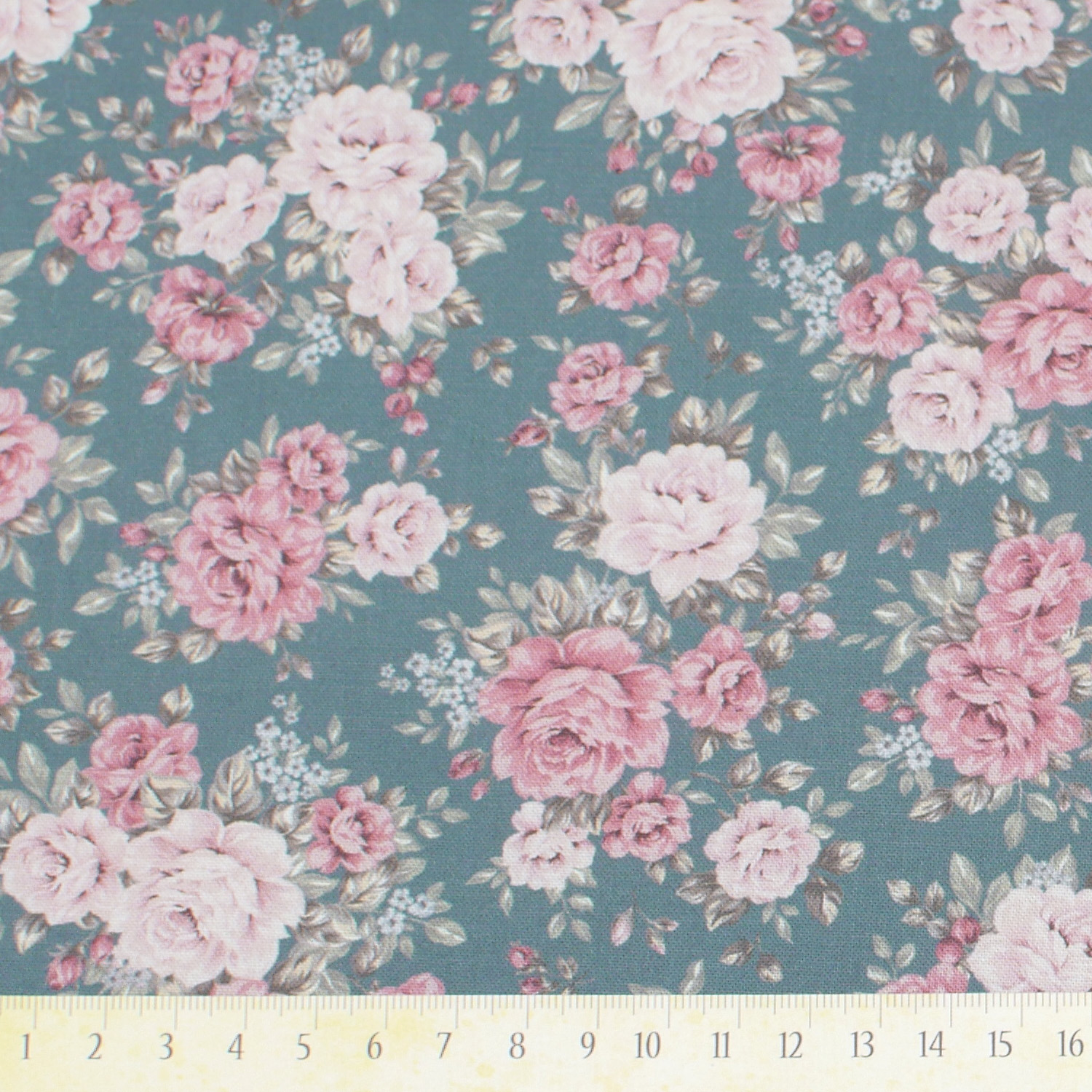 Shabby rose green