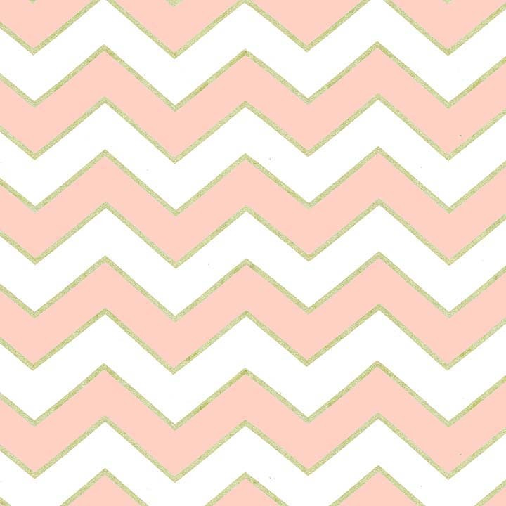 Blush Chic Chevron Pearlized (Розовый)