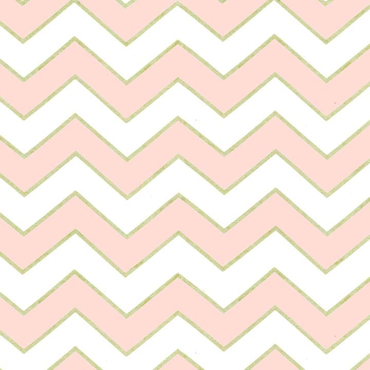 Blush Chic Chevron Pearlized (Светло-Розовый)