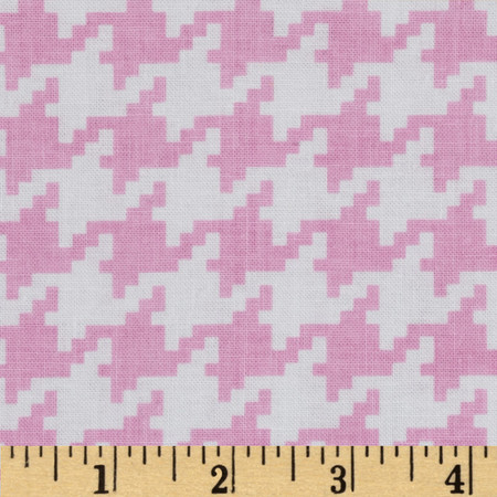 Everyday Houndstooth Rose
