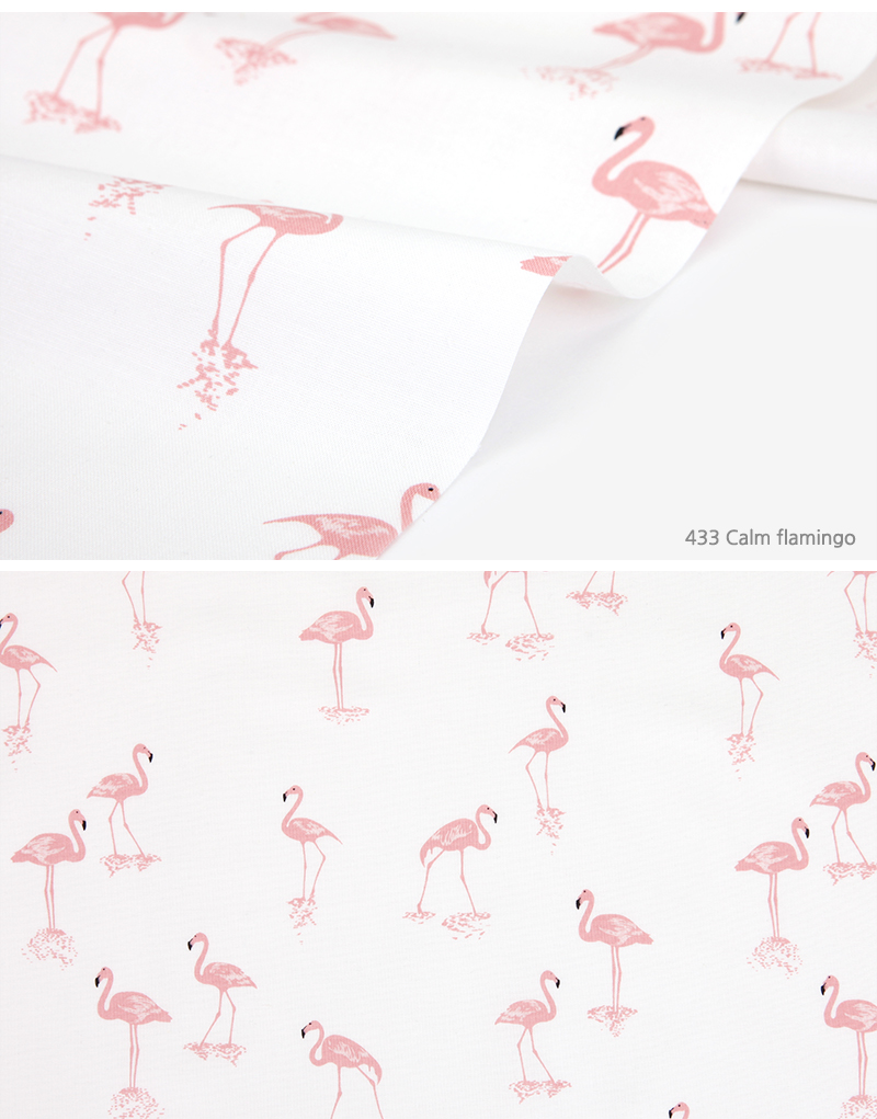 433 Calm flamingo